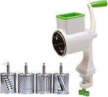Adanse Manual Vegetable Cutter Rotary Grater 4