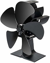 Adanse Stove Fan with Magnetic Thermometer 5 Blade