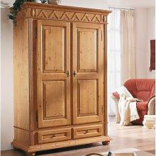 Adda 2 Door Wardrobe Union Rustic