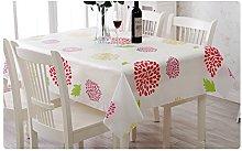 Addfun®Rectangular tablecloths,Water Proof Oil