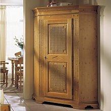 Addington 1 Door Corner Wardrobe Union Rustic
