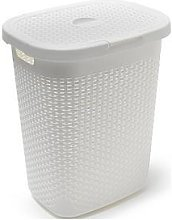 Addis 50 Litre Faux Rattan Laundry Hamper