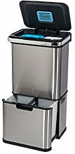 Addis 50 Litre Recycling Sensor Tower Bin with 4