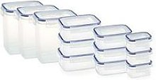 Addis Clip &Amp; Close 12-Piece Food Storage