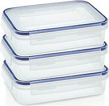 Addis Clip & Close Set Of 3 X 1.1 Litre Food