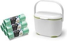 Addis Premium Food Waste Compost Caddy With 120