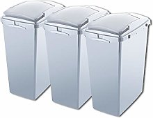 Addis Set of 3 Made from 100% Plastic 40ltr Waste