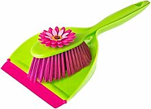 Addis Vigar Flower Power Handy Dustpan & Brush