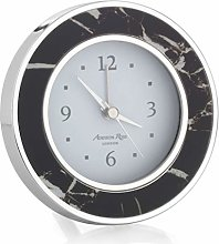 Addison Ross Alarm Clock (Black Marble)