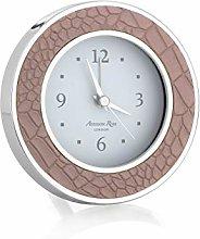Addison Ross Alarm Clock (Croc Mocha)