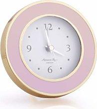 Addison Ross Alarm Clock (Pastel Pink & Gold)