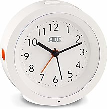 ADE CK 1719 Analogue Alarm Clock (Silent Alarm