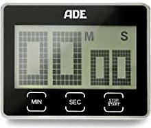 ADE TD1203 Digital Kitchen Timer, Extra-large LCD
