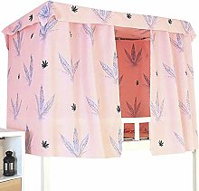 ADELA BOUTIQUE Star String Print Bed Canopy
