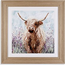 Adelene Fletcher - Heather Framed Print, 56 x