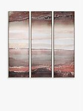 Adelene Fletcher - Heatwave Triptych Framed