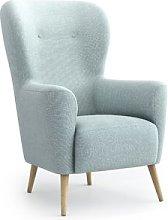Adeline Wingback Chair Fjørde & Co Upholstery