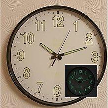 ADEPTNA Stylish 12 inch Glow In The Dark Clock
