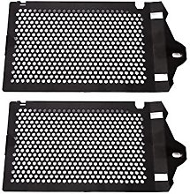ADFIOSDO 2pcs Motorcycle Accessories Stainless