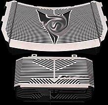 ADFIOSDO Silver Color Motorcycle Accessories