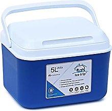 adgbd Cool Box Cooler, 5L Capacity Cooler Box, Ice