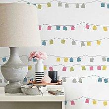 Adhesive Wallpaper Lanterns