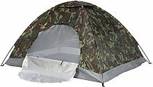 ADHW 2 Man Person Camo Tent Camping Waterproof