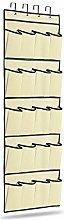ADHW 20 Pocket Shoe Organiser Hanging Over Door