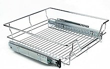 ADHW 600mm Pull Out Wire Basket Kitchen Larder