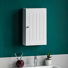 ADHW Bathroom Cabinet Wall Mounted Single Door