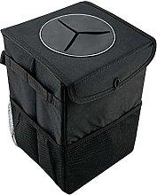 ADHW Car Rubbish Bin Storage Box Car Accessories