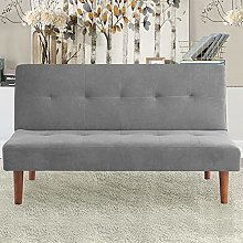 ADHW Fabric Upholstered 2 Seater Sofa Bed Small