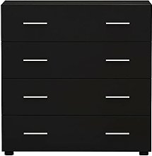 ADHW High Gloss Sideboard TV Unit 4 Drawers Chest