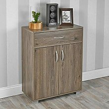 ADHW Small 2 Door 1 Drawer Hallway Living Room
