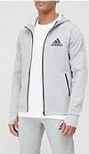 Adidas Tape Detail Zip Hoodie -