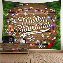 Adisaer Christmas Wall Hanging Kit; Tapestries for