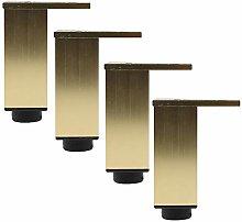 Adiustable Metal Gold Table Legs Furniture Feet