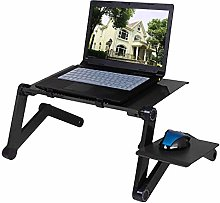 Adjustable Aluminum Laptop Desk Table Ergonomic TV