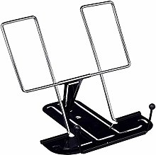 Adjustable Angle Metal Book Stand Rest Foldable