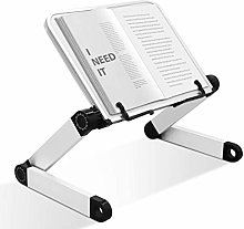 Adjustable Book Stand,Book Holder with Page Paper