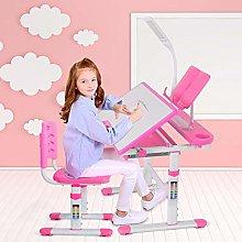 Adjustable Children's Desk and Chair Set,