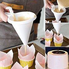 Adjustable Chocolate Funnel Hopper for Baking Cake