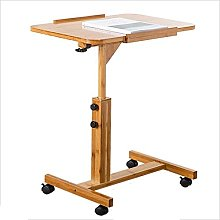 Adjustable Height Lazy removable bedside table