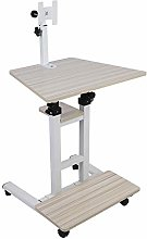 Adjustable Height Stand Up Hanging Laptop Desk,