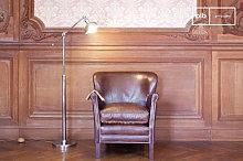 Adjustable industrial design metal reading lamp