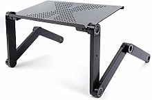 Adjustable Laptop Bed Table, Foldable Portable