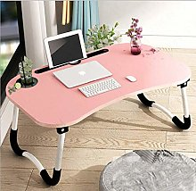 Adjustable Laptop Bed Table Lap Standing Desk for