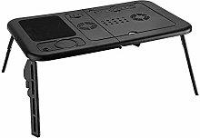 Adjustable Laptop Desk, PC Foldable Laptop Desk,