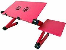 Adjustable Laptop Stand Desk Lazy Table Folding