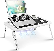 Adjustable Laptop Table, Folding Laptop Desk
